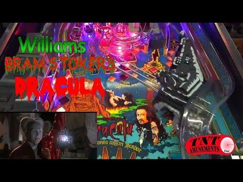 #878 Williams BRAM STOKER'S DRACULA Pinball Machine - TNT Amusements