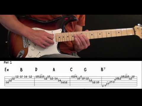 Perfect Barre Chord Song Guitar Lesson. Learn To Connect Chords, Scales and Arpeggios