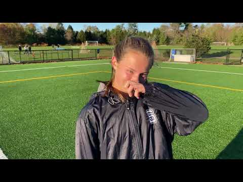 Staples' Charlotte Barnes Discusses Her Four-Goal Game