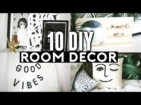 10 DIY ROOM DECOR Ideas for 2017! (Tumblr Inspired) Minimal & Cheap! ✂️ 💡 🔨