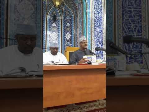 DAY 18 RAMADAN TAFSIR 2018 - SHEIKH ISA ALI PANTAMI (VIDEO)