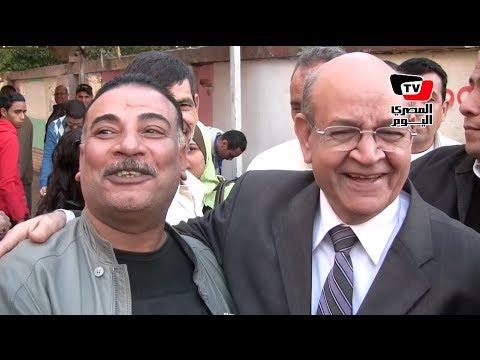محافظ الجيزة يتفقد لجان الاستفتاء: المواطنيين تحدوا التفجيرات