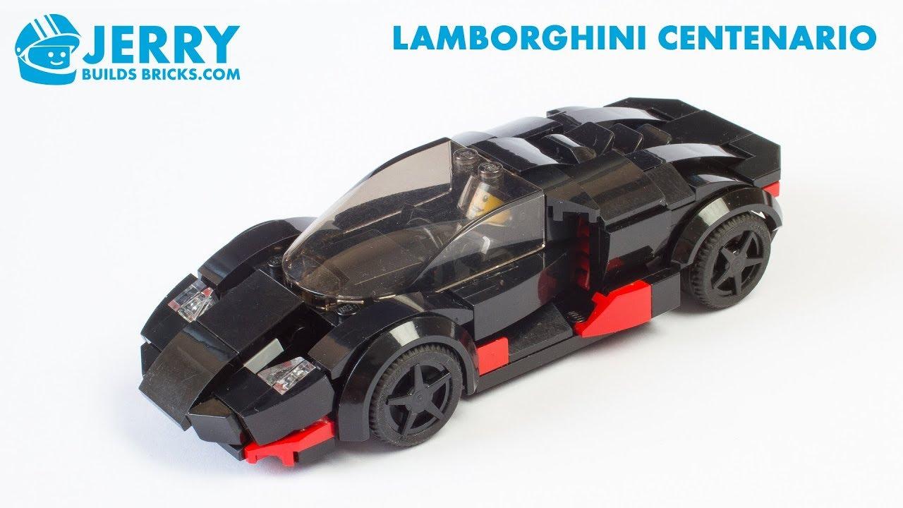 LEGO Lamborghini Centenario instructions (MOC #100)