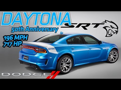 Dodge Debuts Charger Daytona 50th Anniversary Edition | SRT Hellcat Widebody | Kendall, FL