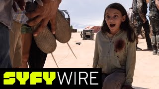 Logan Behind-the-Scenes Feature: X-23's Claws + Dafne Keen as Laura (Exclusive) | SYFY WIRE