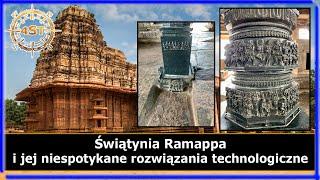 Świątynia Ramappa i jej niespotykane rozwiązania technologiczne
