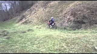 hmongbuy - honda cr250 vs ktm 150. hill climb