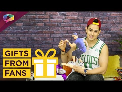 Priyank Sharma Unwraps Gifts From His Fans