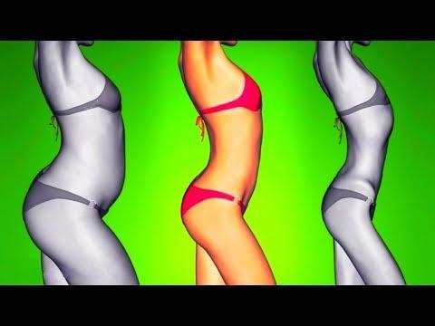 Похудеть убрать обвисший живот