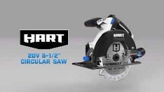 """HART 20V 6 1/2"""" Circular Saw"""