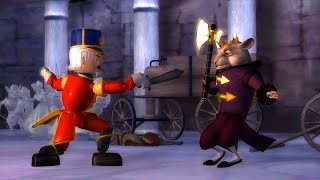 Barbie In The Nutcracker - The Nutcracker Fight Against The Mouse King