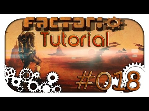 Factorio: Tutorial / Guide #018 ♦ Roboter ♦ Let's Learn Together Deutsch ♦ HD 1440p
