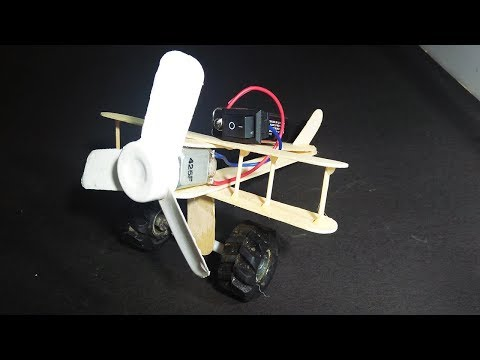 Download How To Make Aeroplane With Dc Motor Wooden Plane