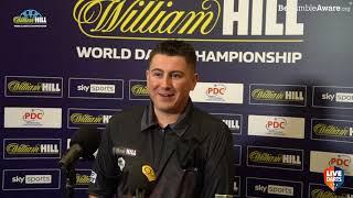 "Nick Kenny on debut win over Derk Telnekes: ""He was rattling his darts and it was doing my head in"""
