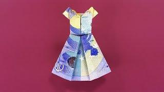 geldscheine falten hose geldgeschenke basteln origami kleidung aus geld falten 123vid. Black Bedroom Furniture Sets. Home Design Ideas