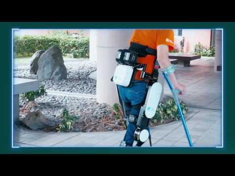 ITRI's Wearable Walking Assistive Exoskeleton Robot