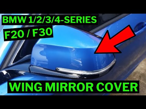BMW 1/2/3/4-SERIES - Wing Mirror Cap / Cover Removal How-To (F20/F21/F22/F23/F30/F31/F33/F34)