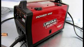 Review of Power Mig 180c Welder by Lincoln Electric