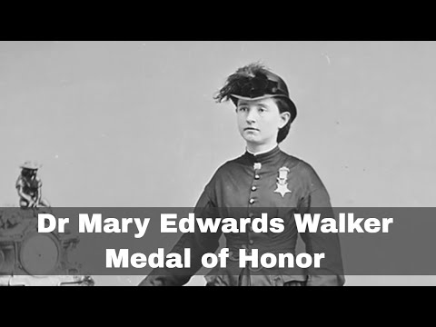 11th November 1865: Dr Mary Edwards Walker becomes the only woman to receive the Medal of Honor