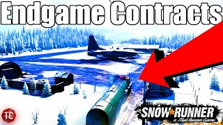 SnowRunner: ENDGAME CONTRACTS! TRAILER STORE, & MORE!! Gear Up Trailer FULL ANALYSIS
