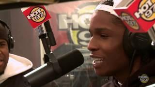 ASAP Rocky Freestyle on Funkmaster Flex