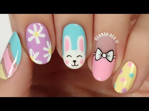 5 Cute Spring/Easter Nail Art Ideas!