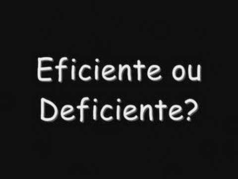 Ver vídeo Sindrome di Down: Eficiente ou deficiente?