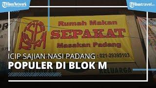 Sajian Warung Nasi Padang Pertama di Jakarta, Sudah Eksis Setengah Abad di Blok M