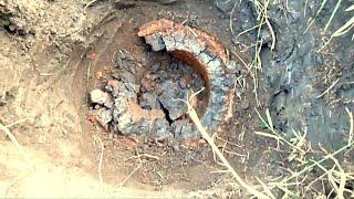 Что нашел на дне ямы!!!???