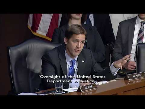 Ben Sasse Questions Attorney General Jeff Sessions