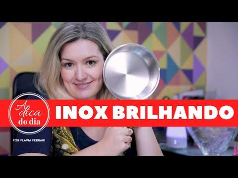 Dê brilho a suas panelas de inox com 2 ingredientes