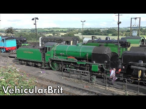 A walk around Ropley Yard on the Watercress Line 17th August…