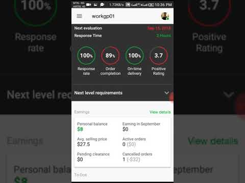 SEE How I make $168 on fiverr in one week