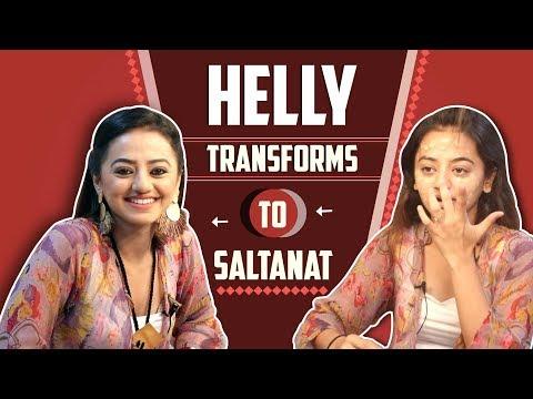 Helly Shah Transforms To Kaynaat | Sufiyana Pyaar