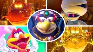 Captain Toad Treasure Tracker - All Bosses + Cutscenes (No Damage)