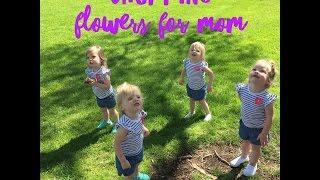 QUADRUPLETS IN A FLOWER SHOP