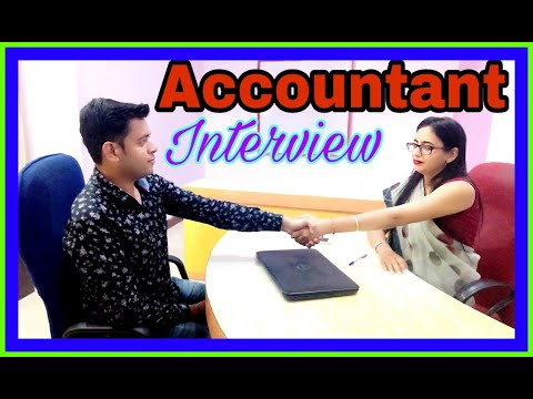 , title : 'Accountant #interview : #Accounts and #Finance