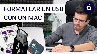 CÓMO FORMATEAR un USB / PEN DRIVE con un MAC para APPLE y/o WINDOWS | Los Tutoriales de Applesfera