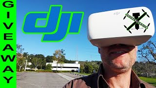 Drone ❌cursion - DJI Goggle GIVEAWAY! Got to Play to WIN! ????