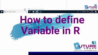 3.how to define variable in R