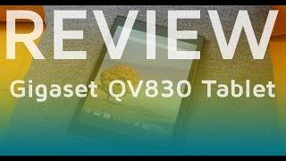 Gigaset QV830 Tablet Test   Review