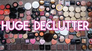MAKEUP COLLECTION DECLUTTER | BLUSHES & BRONZERS