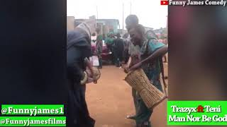 FunnyJames  Danced To Man Nor Be God By #Trazyx Ft #Teni
