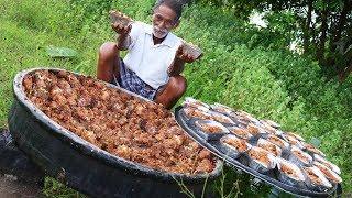 Shahi Tukda Dessert   Double ka meetha cooking By Our Grandpa Donating to Orphans   Grandpa Kitchen   Kholo.pk
