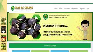 Tata Cara Pengajuan Surat Persetujuan Penyaluran Benih Kelapa Sawit (SP2BKS Online)