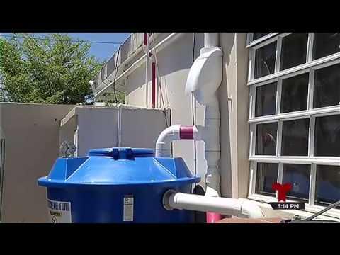 Sistema para recolectar agua de la lluvia