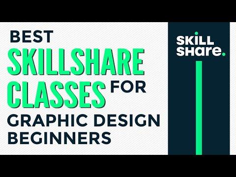Best Skillshare classes for graphic design beginners - YouTube