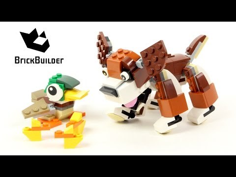 Vidéo LEGO Creator 31044 : Les animaux du parc