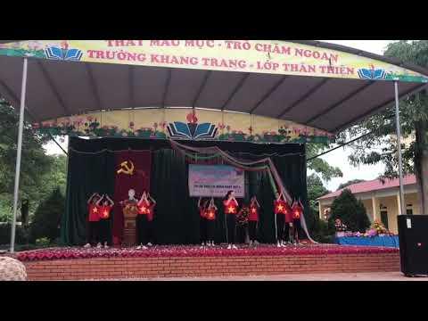 """Múa """"Viet Nam I Love"""" Lớp 7B _ Trường THCS Bình Thuận"""