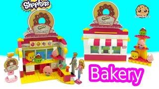 Barbie & Ken Go To Shopkins Bakery Shop Kinstructions Building Set - Toy Video